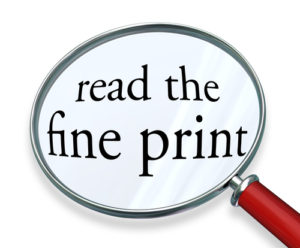You're About to Sign a Contract, Have You Reviewed the Fine Print? by Harlan Levine